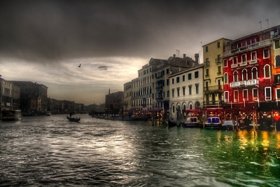 Evening in Venice by Angela Caunce