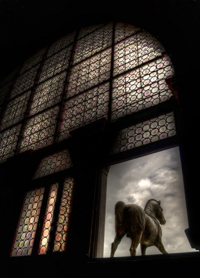 Through the Arched Window by Angela Caunce