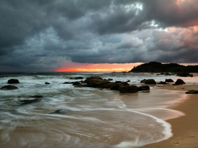 Storm at Sunrise 2 by Malcolm Blackburn