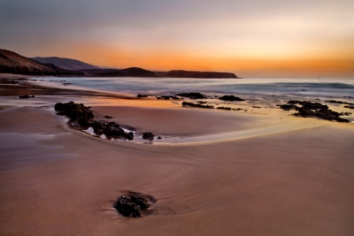 Playa Blanca Dawn by Phil Thompson