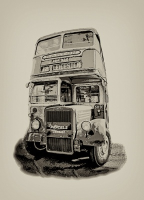 My Old School Bus by Pete Roberts