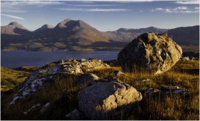 Evening Light, Torridon by Bob Wade