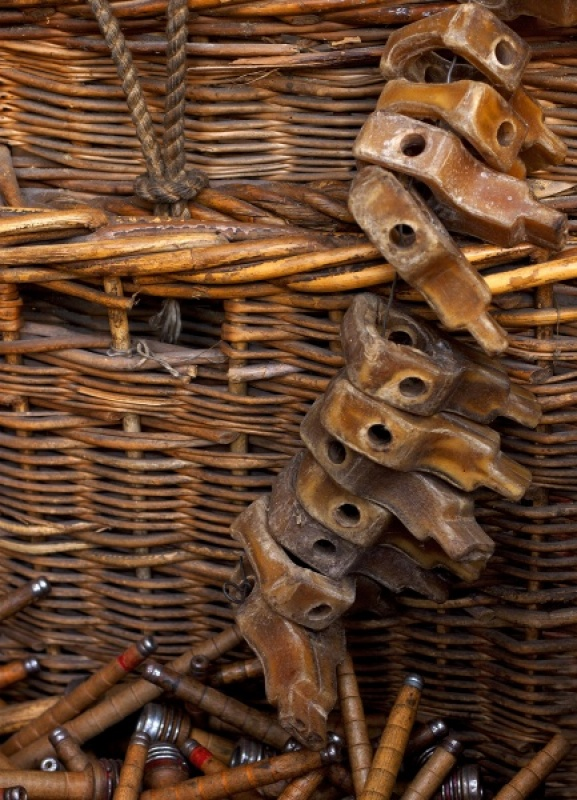 Weaving Shed Basket by Sue Hughes