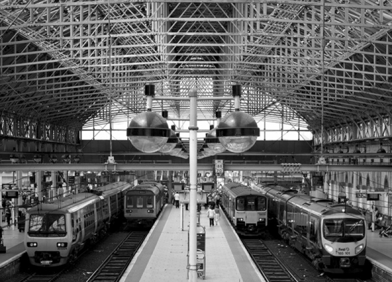 Platform Symmetry by Jack Fuller