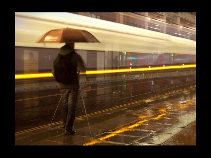 Shooting the Trams in the Rain by Lynne McPeake