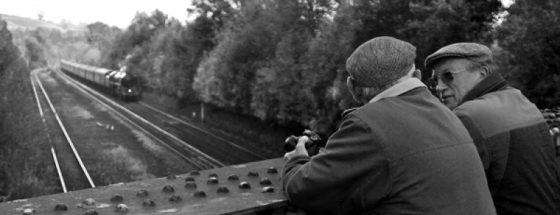 The Train Spotters by Howard Bristol