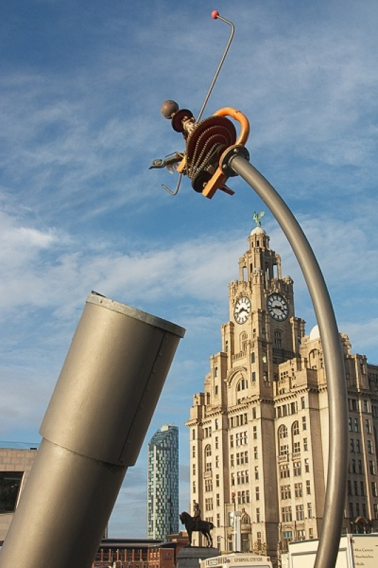 Liverpool Old and New by Margaret Davison
