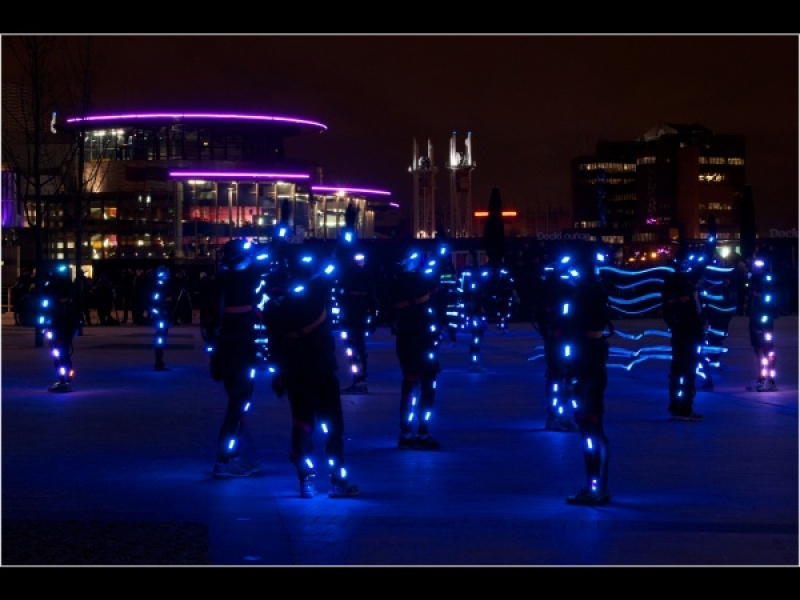 Salford Quays - Speed of Light by Ross Baker