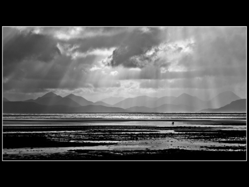 LONE PHOTOGRAPHER APPLECROSS BAY
