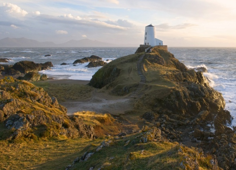 Llanddwyn Island Lighthouse by Ross Baker