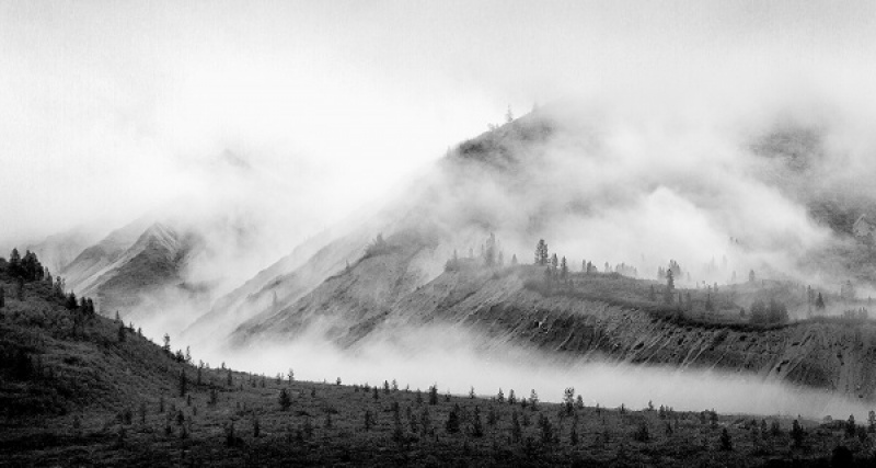 ALASKA LAND OF MISTS by Malcolm Blackburn