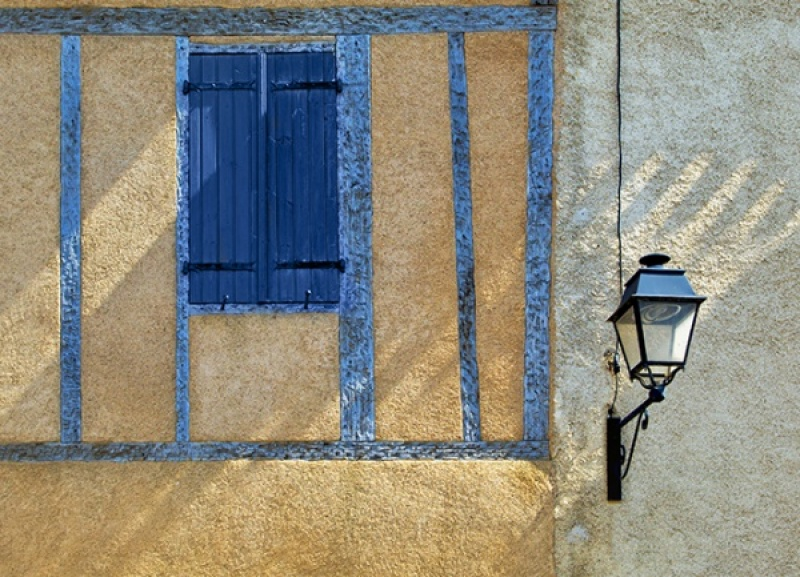 SHUTTER AND LAMP CARCASSONNE by Keith Gordon