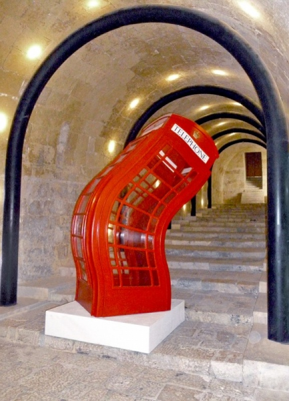 THE BENT PHONEBOX by Jean Wild