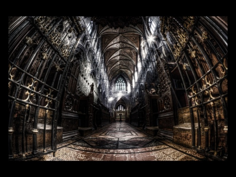 CHESTER CATHEDRAL by Angela Caunce