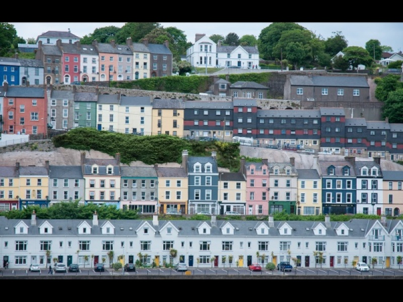 LITTLE BOXES - COBH by Rosy Bateman
