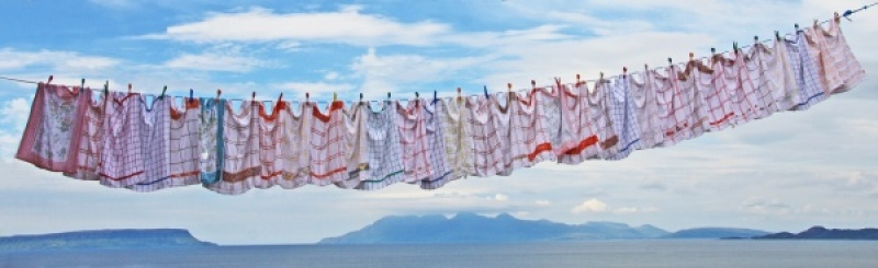 WASHDAY IN THE HIGHLANDS By Brian Bristol
