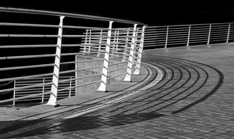 SURPENTINE BALUSTRADE by Jack Fuller