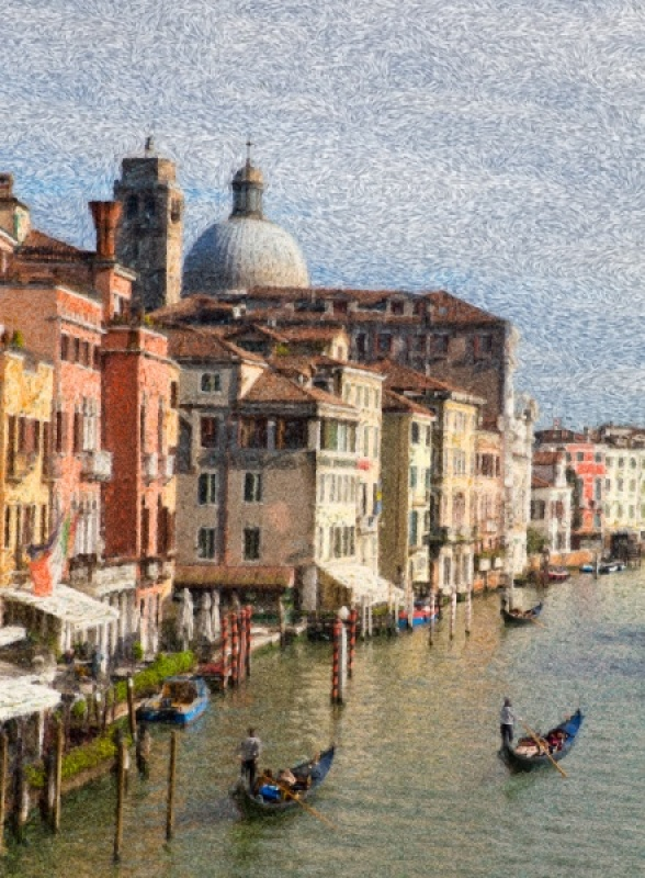 IMPRESSION OF VENICE by Pete Roberts