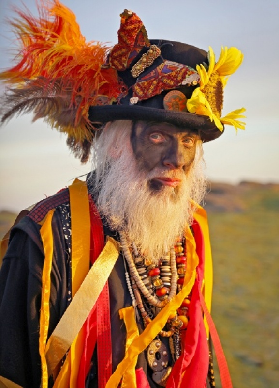 MORRIS MAN AT DAWN by Nick Chalkley