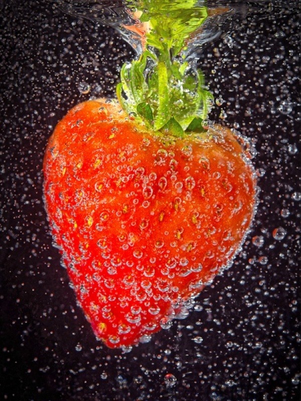STRAWBERRY FIZZ by Ross Baker