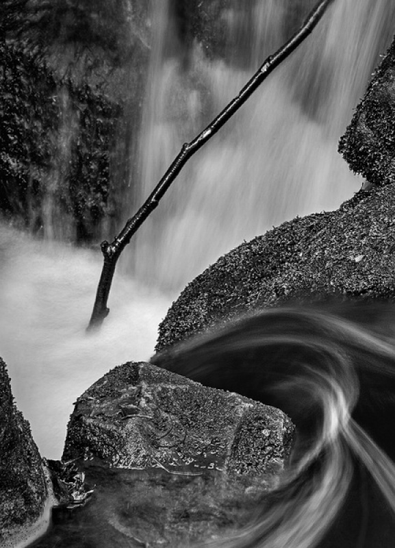 WATERFALL DETAIL by Keith Gordon