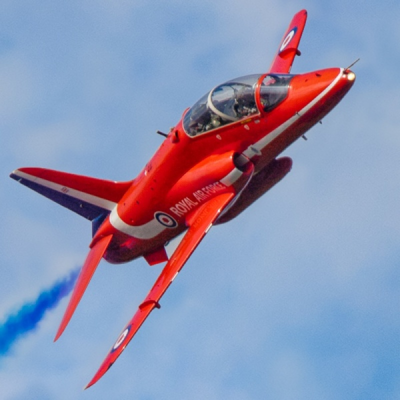 Red Arrow Singleton by Pete Roberts