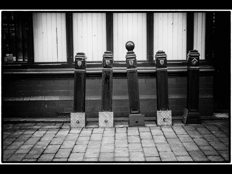 STOCKPORT STANCHIONS by Susan Hughes