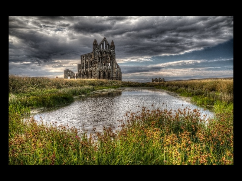 WHITBY ABBEY by Angela Caunce
