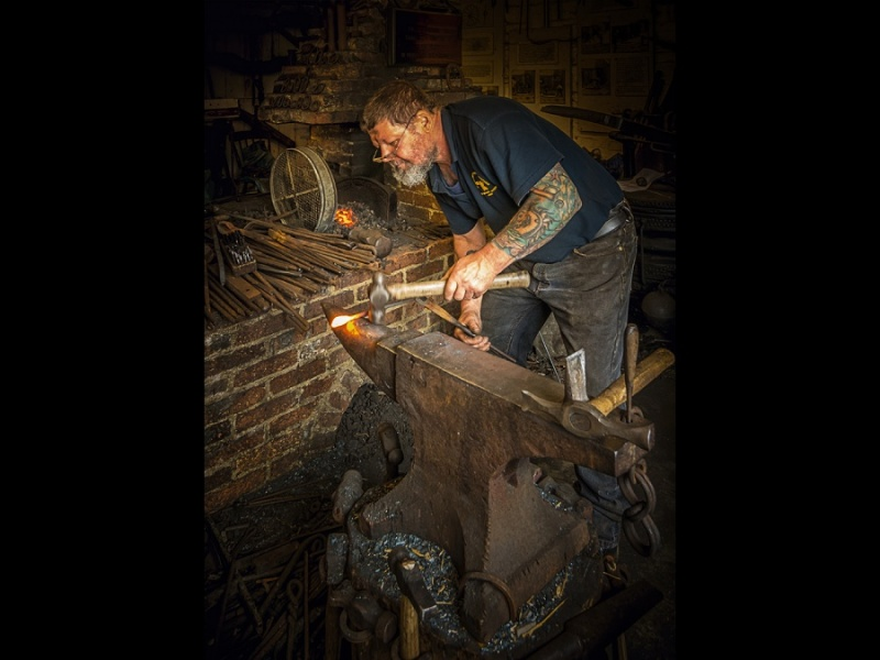 SUSSEX BLACKSMITH by Dick Bateman