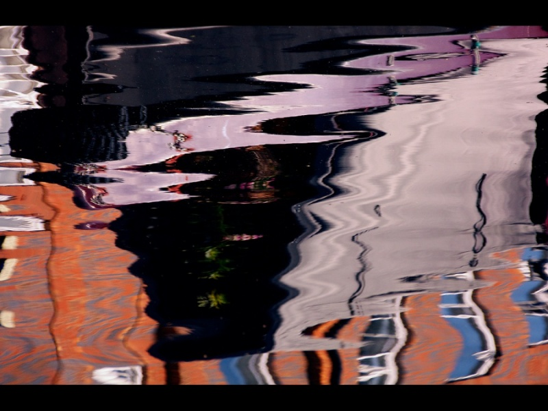 CANAL REFLECTIONS 2 by Margaret Davison