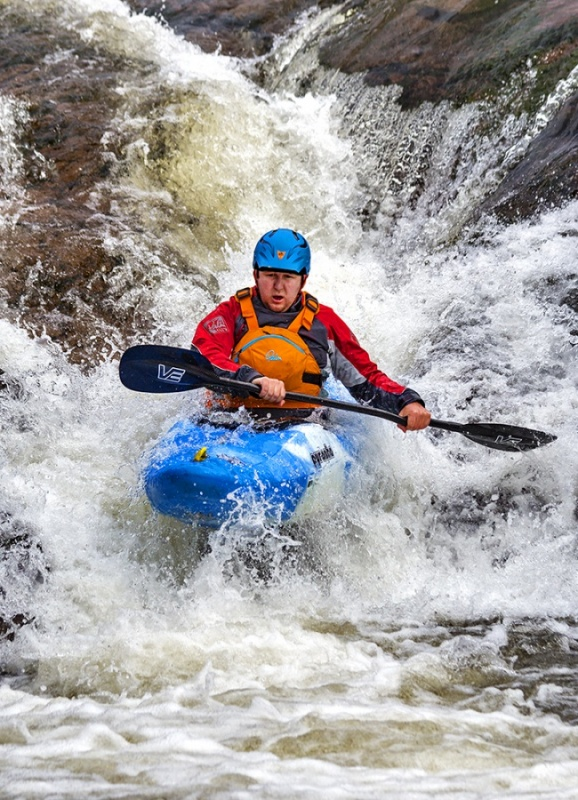 KAYAKS RIVER ETIVE No2 by Keith Gordon
