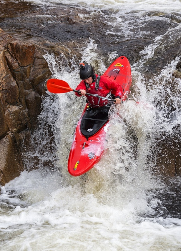 KAYAKS RIVER ETIVE No3 by Keith Gordon