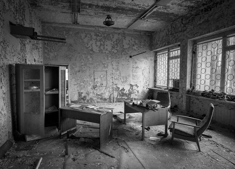 THE TOWN DESTROYED BY RADIATION, CHERNOBYL (3) by Charlotte Nuttall