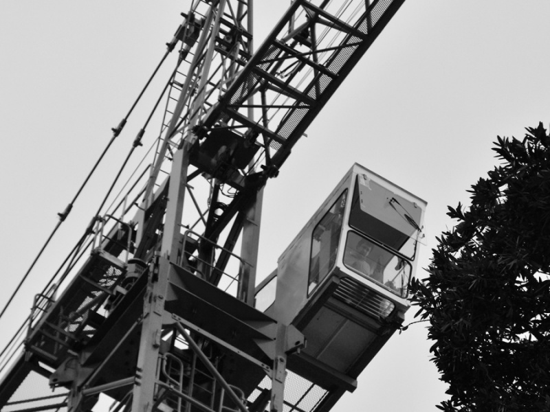 CRANE OPERATOR HIGH CONCENTRATION by Desi Lander