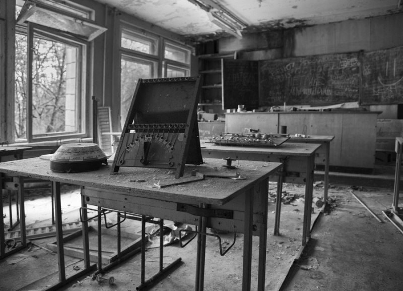 REMEMBERING SCHOOL WORK IN CHERNOBYL by James Street