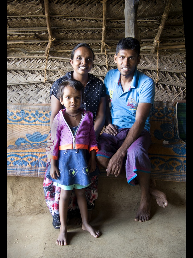 VILLAGE FAMILY SRI LANKA by lynne mcpeake