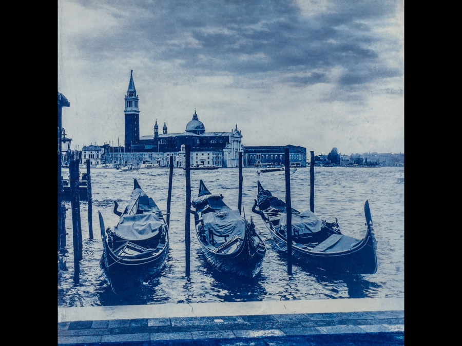 VENICE BLUE by Rosy Bateman