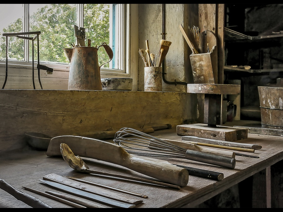 WORKBENCHES 1 by John Pope