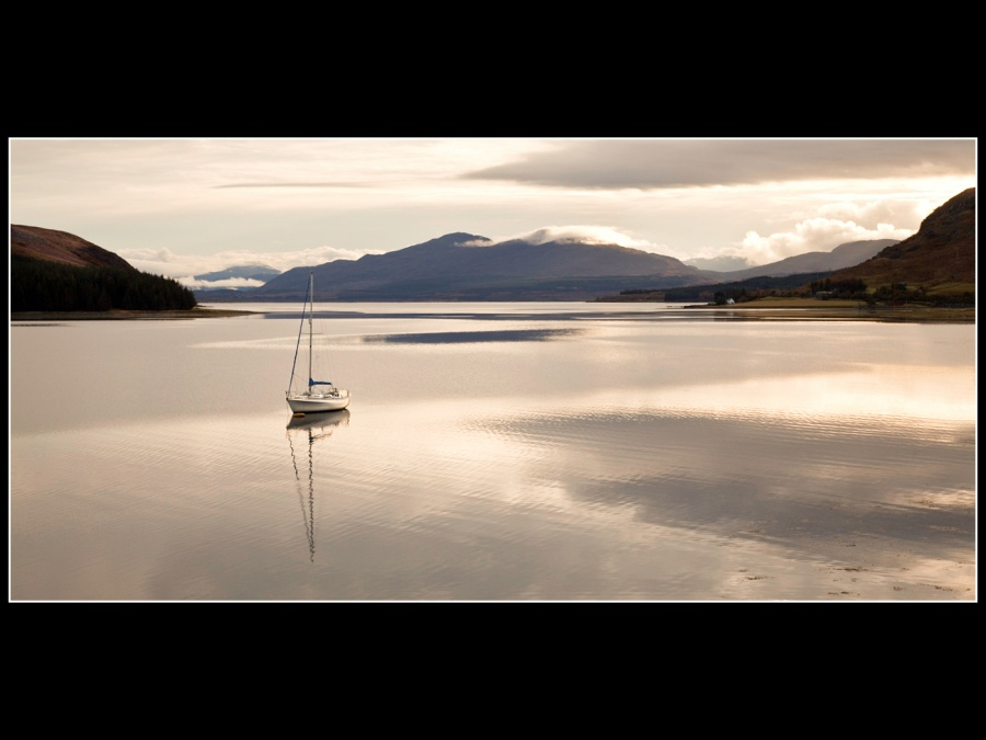 EARLY MORNING BROADFORD BAY by Bob Wade 35A
