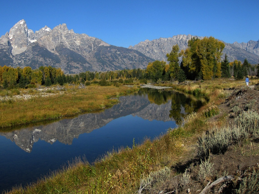 THE SNAKE RIVER AND GRAND TETONS by Jennifer Blackburn