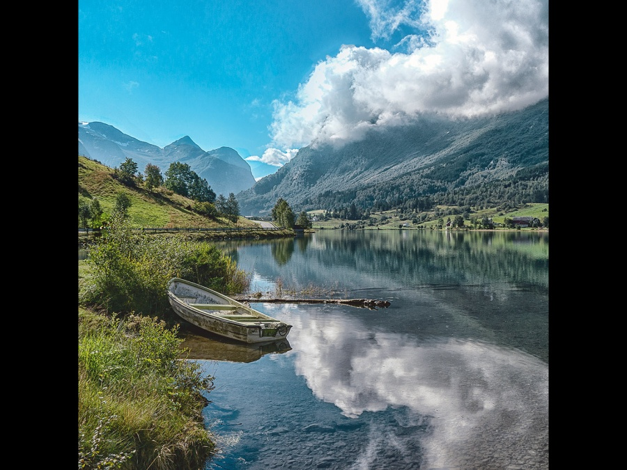 OLDEN NORWAY by Rosy Bateman
