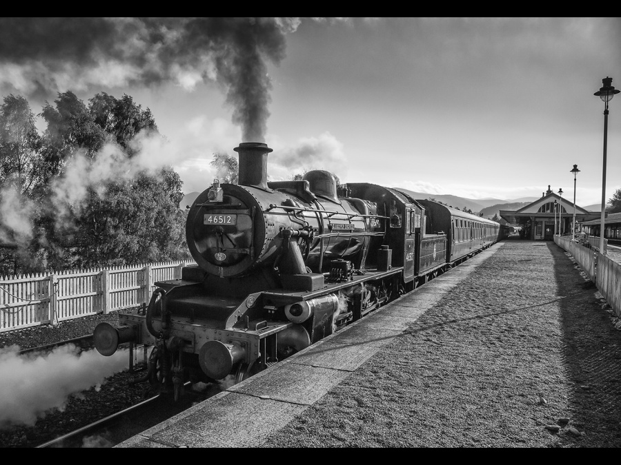 PLATFORM THREE AVIEMORE by james chapman