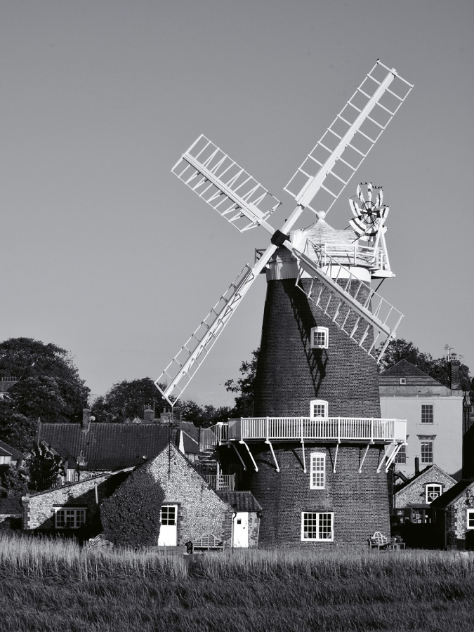 CLEY WINDMILL NORFOLK by Desi Lander