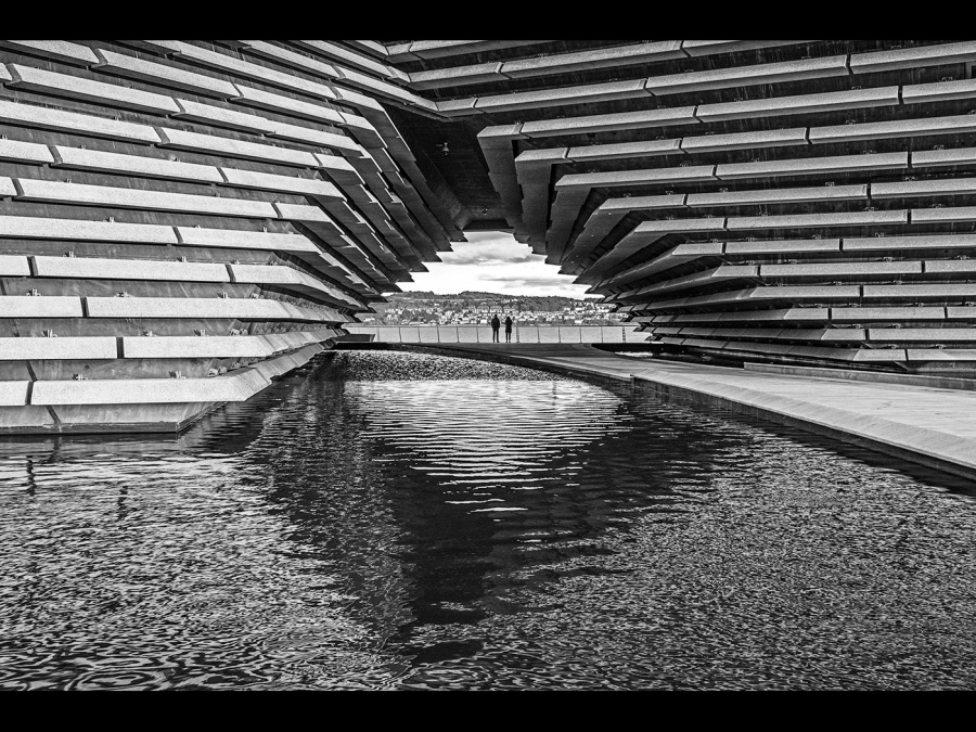 DUNDEE V & A by Dick Bateman