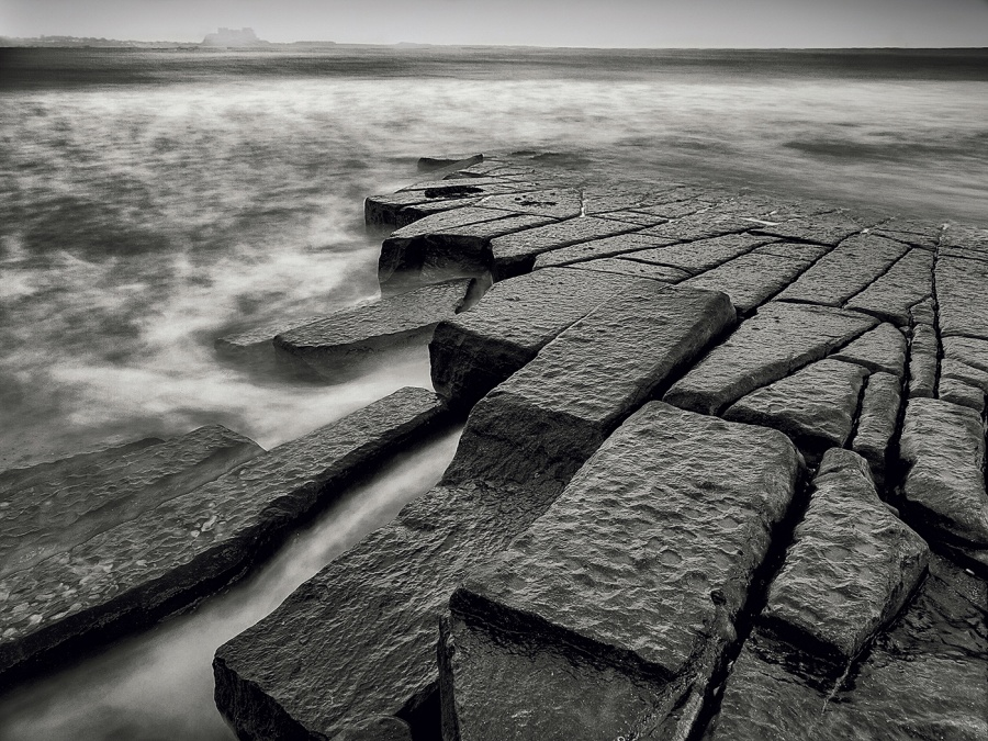 WAVE FRACTURED ROCKS by Ken Lomas