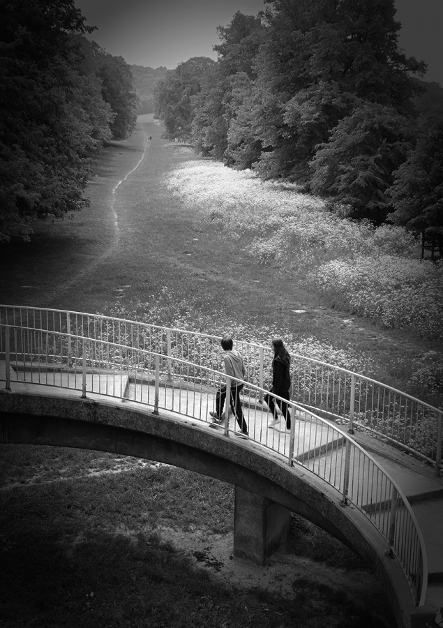ON THE BRIDGE by Nick Chalkley