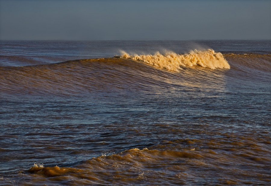 BREAKING WAVES by Rodger Holden