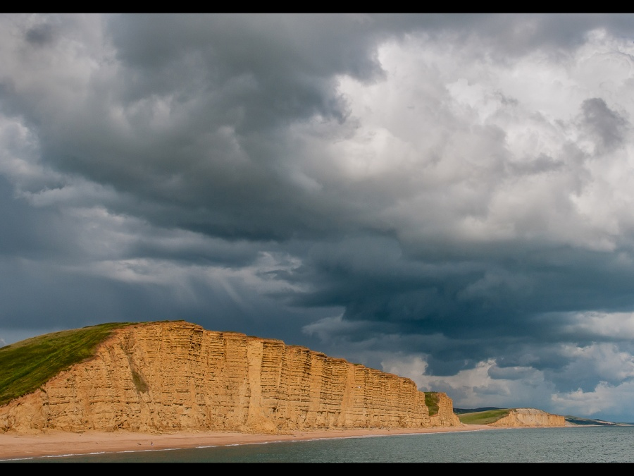 'BROADCHURCH' CLOUDSCAPE by Chris Evans