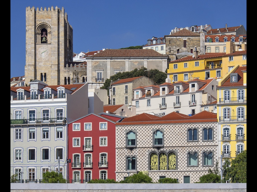 LISBON TOWNSCAPE by Terry Walker