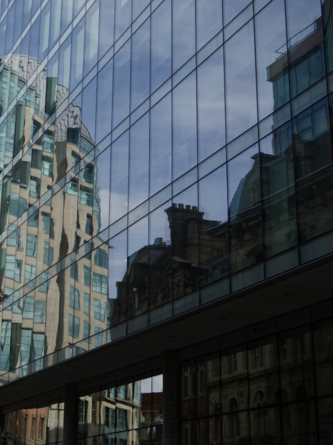CITY REFLECTIONS by Annette Thomas